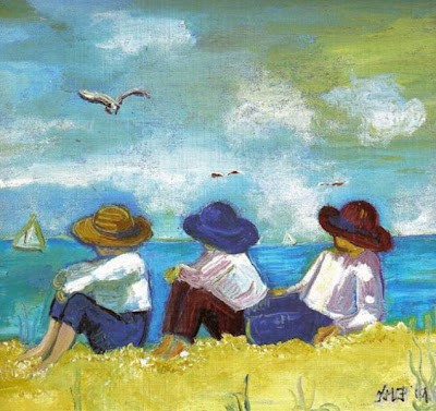 Día de playa-Kathrin Frawley