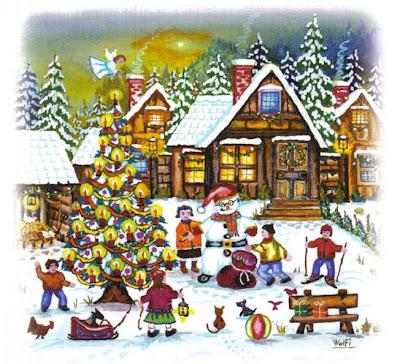 Celebración de Navidad-Wolfgan Vrbica