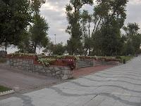 Parque del Dr. Mesones, detrás la segunda del Sardinero
