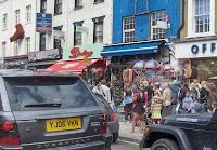 10-Haciendo pompas de jabón en la calle de Camden Market