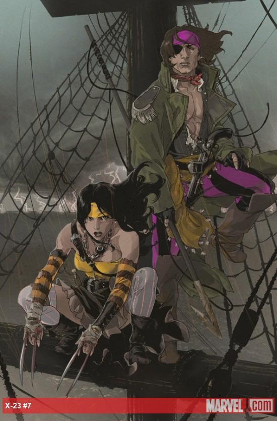snackpreview: Nueva aventura de X-23 con Gambit X 23 Gambit