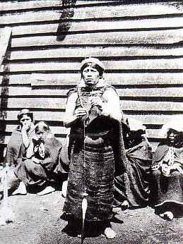 Retrato de Mujer Mapuche   Odber Heffer Bissett