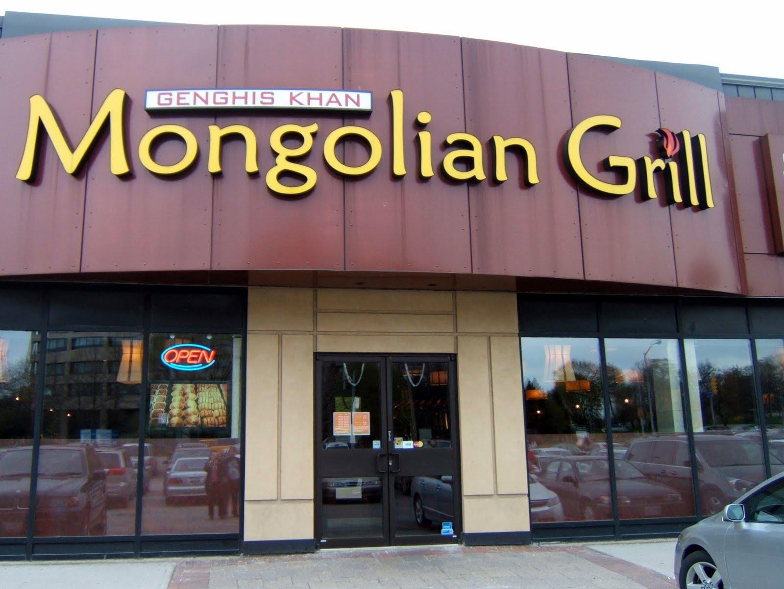 toronto ethnic eats challenge 64 mongolia genghis khan. Black Bedroom Furniture Sets. Home Design Ideas