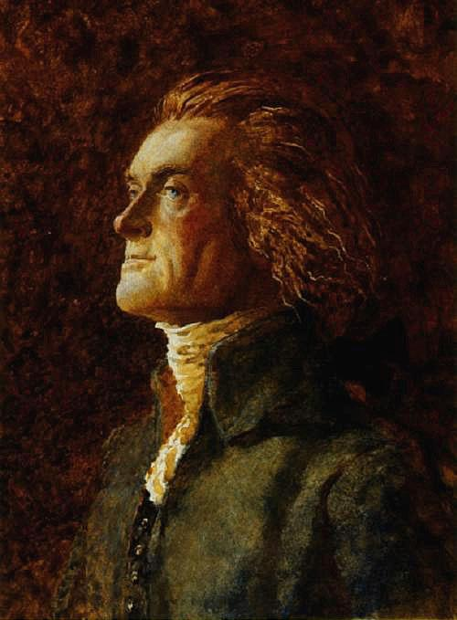 Thomas Jefferson by Jamie Wyeth