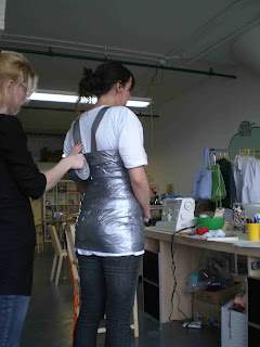 duct taping for mannequin