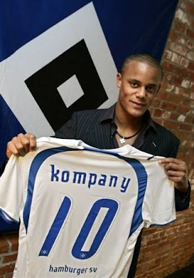 Reports have emerged that Hamburger SV have accepted a bid from Manchester City for Belgian defender Vincent Kompany, believed to be in the region of €13.8million.