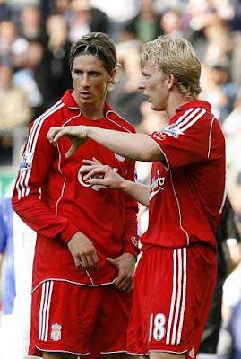 Dirk Kuyt and Fernando Torres - Liverpool