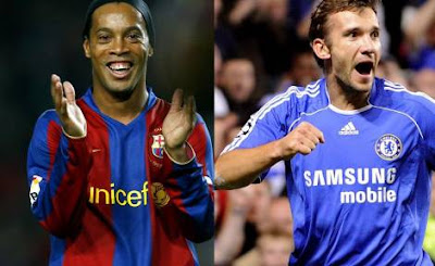 Sheva One Of Greatest Striker In Football - Ronaldinho
