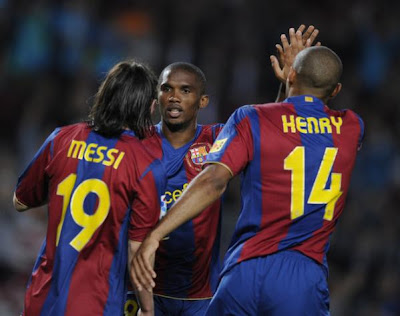 Messi Bests Eto'o And Henry