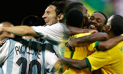 South American Debate: Who Are Stronger - Brazil Or Argentina?