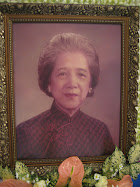 IN REMEMBRANCE OF A LOVING GRAND MATRIACH
