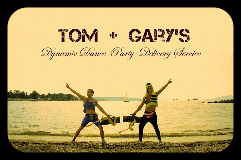 Tom + Gary's Dynamic Dance Party Delivery Service