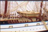 精密帆船模型