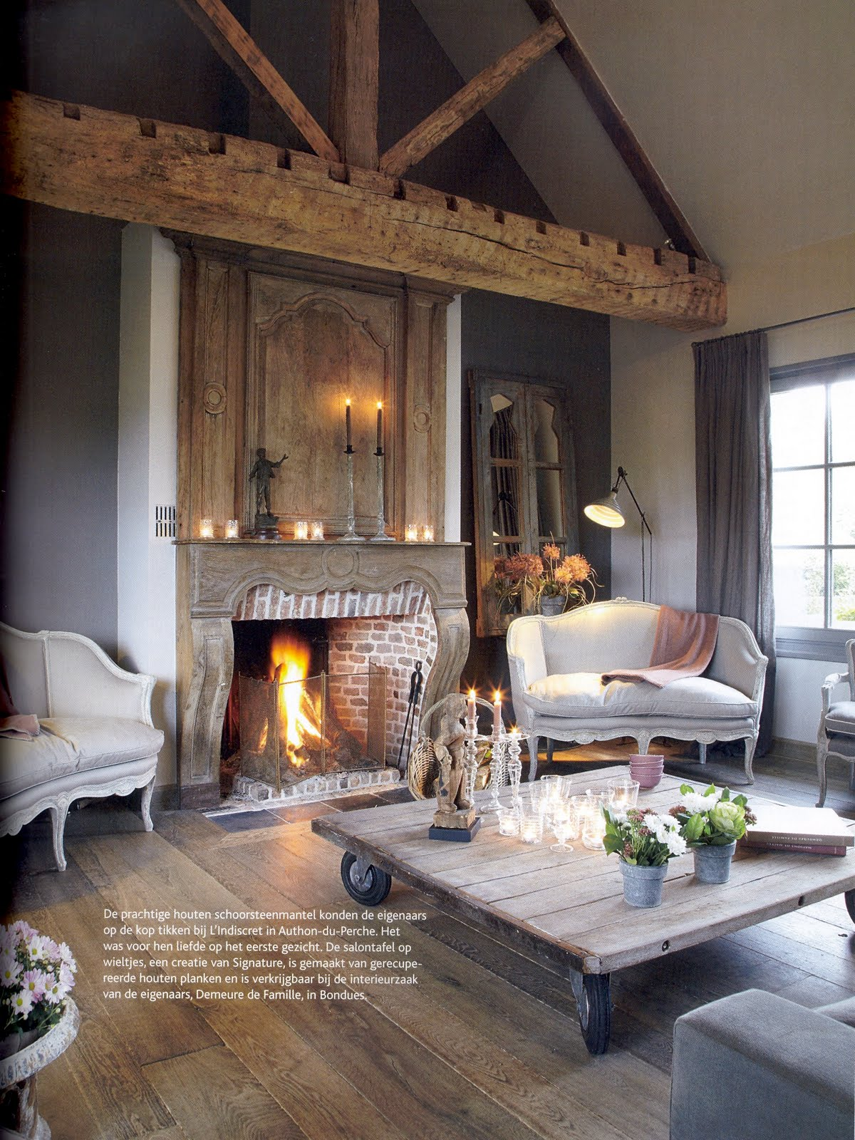 Flemish interiors of today belgian pearls for Living room today
