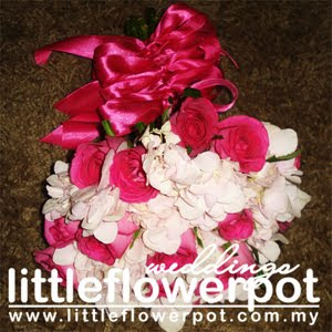 fresh flowers wedding bouquet