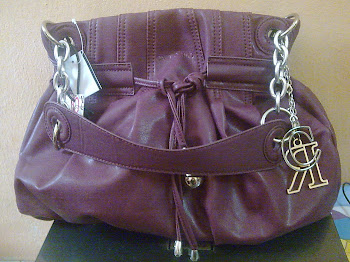 NWT Carlo Rino handbag purple