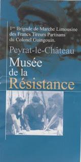 Peyrat-le-Chateau Musee de la Resistance