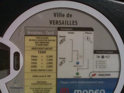 Ville de Versailles Parc-Metre Mondeo