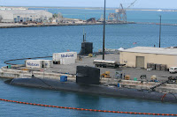 Nuclear Submarine Docked in Guam