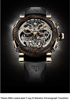 Romain Jerome Titanic Rusted Steel Watch