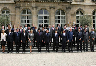Fillon IV, New Sarkozy Government at Elysees Palace