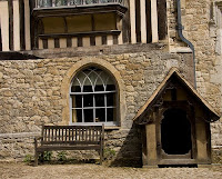 Dog Kennel at Ightham Mote, Kent England