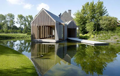 minimalis design on ... Minimalist Design House Wood by Wim Goes Architectuur - Minimalist