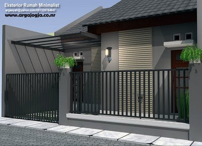 Minimalist Design Home on Exterior Minimalist Home Design