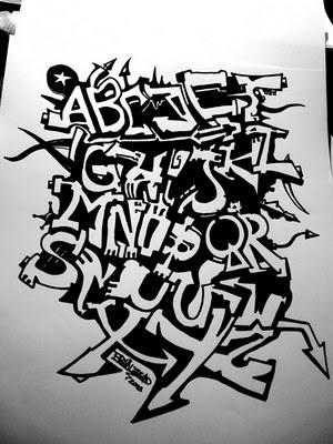 graffiti fonts. graffiti font tattoos.