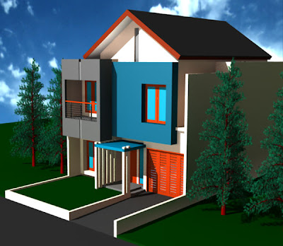 Minimalist Design House 2 Floors Simple House Design