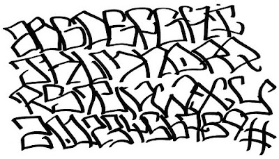 gangster graffiti fonts sample letters graffiti alphabet letters