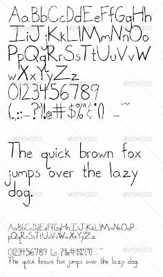 Graffiti Alphabet Letters, Hand Drawn Graffiti