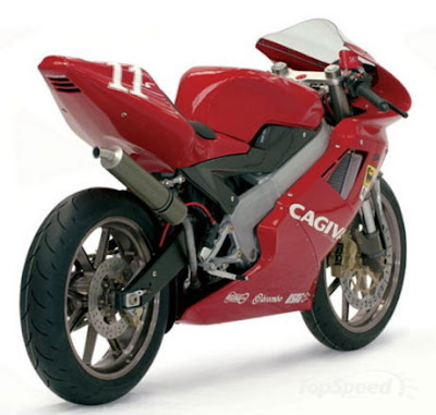 Model Cagiva Mito 525SP was first launched at the Motorcycle Exhibition,