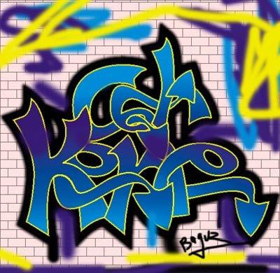 graffiti tips and tricks how to make graffiti alphabet with coreldraw x4. Black Bedroom Furniture Sets. Home Design Ideas