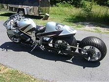 Suzuki Hayabusa Chrome Triple