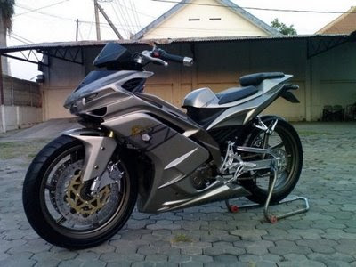 Modification Yamaha Jupiter MX