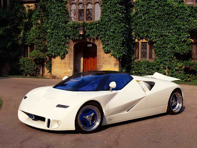 ford gt90. Ford GT 90 White Prototype