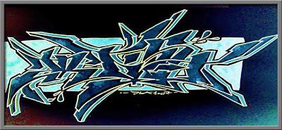 Graffiti Alphabet Stack