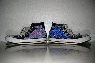 ART OF Graffiti on Converse Shoes