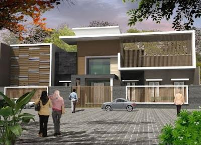 Modern Minimalist House Design Wood