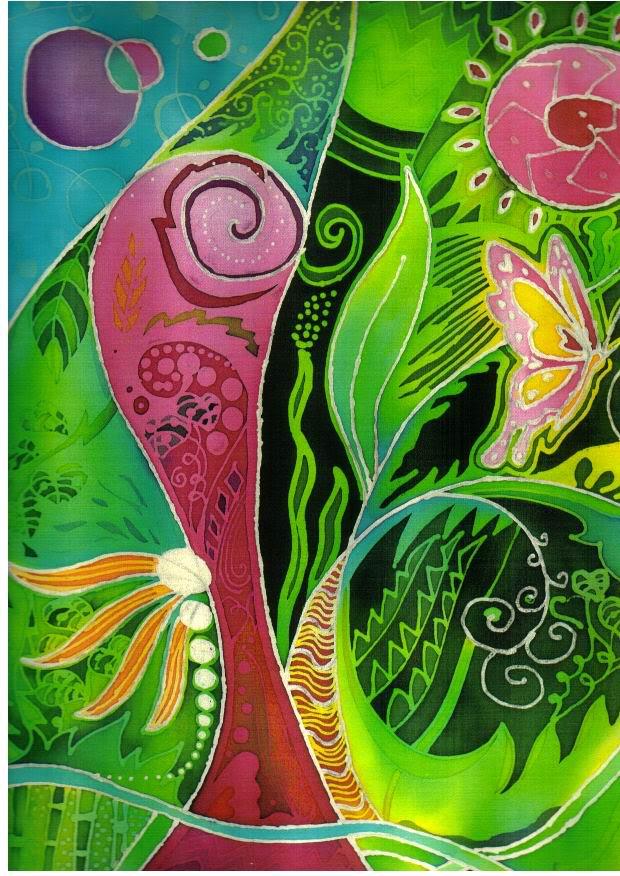 Batik Fabric Full Color