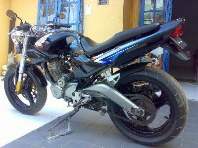 honda megapro. Modification Honda Tiger Swing
