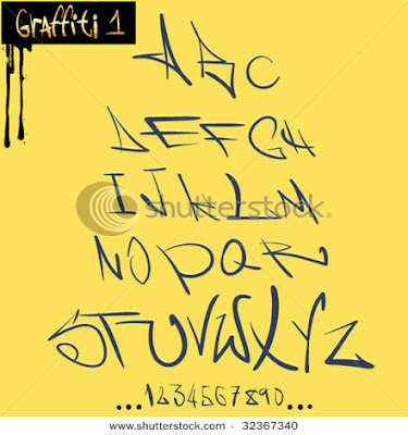 Graffiti Alphabet Wallpaper. New Fonts Graffiti Alphabets.