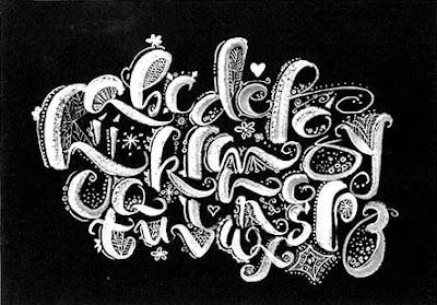 Unique Alphabet Graffiti - Cool Graffiti Fonts Black and White ...