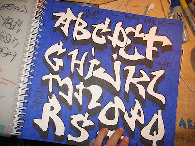 Graffiti Alphabet: Letters A-Z in The Book