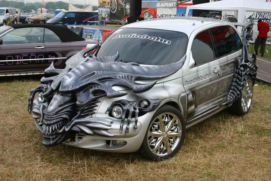 Custom Cars Dragon | Car Modification