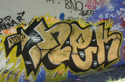 Graffiti Alphabet: Graffiti Street Art Wall