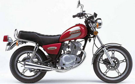 This is a Suzuki GN125. When viewed from the travel career,