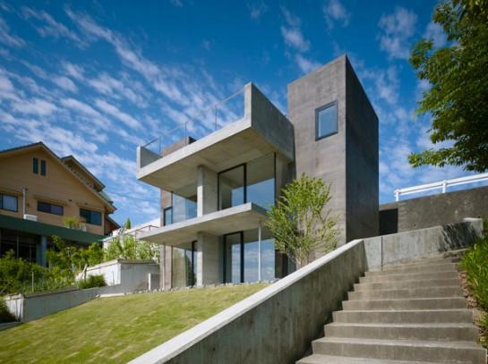Minimalist Home Dezine: Minimalist Modern House Three Storey ...