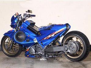 Modified Suzuki Satria F-150 Low Rider